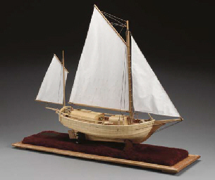 A scale model of Joshu Slocum'