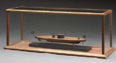 A model of the U.S. Navy ironc