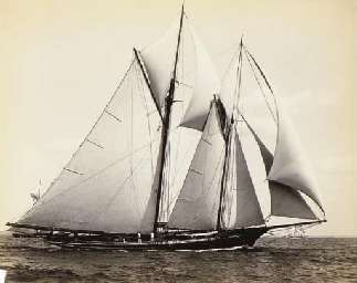 Yachts Massachusetts bay, 1880
