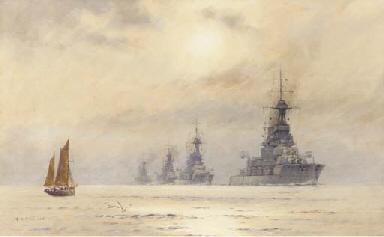 The 3rd Battle Squadron:  H.M.