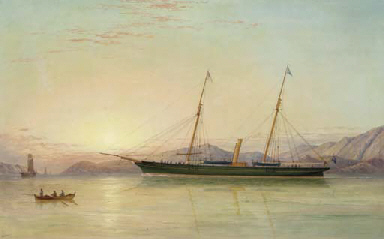 The auxiliary schooner Ceres o