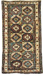 An antique Moghan rug, South E