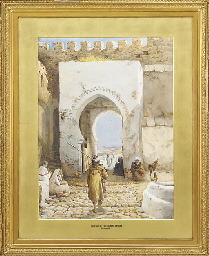 GATEWAY OF THE CASABAR TANGIER
