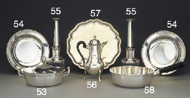 A Swiss Silver Entrée Dish and