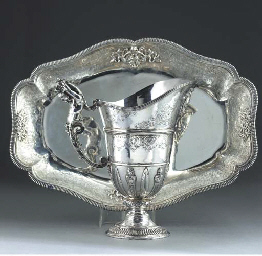 A Continental Silver Ewer and