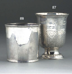 An American Silver Julep Cup