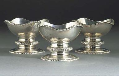 A Set of Three George V Silver