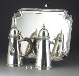 A George V Silver Tray