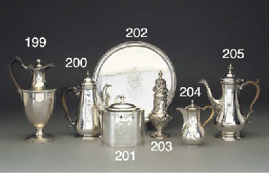 A George III Silver Caster