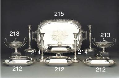 A George III Silver Presentati