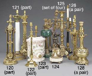 A William IV gilt bronze table