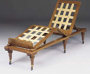 A VICTORIAN WALNUT ADJUSTABLE