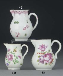 A Longton Hall milk-jug