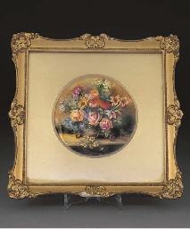 A Royal Worcester circular fra