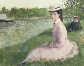 Eugénie (au bord de la rivière