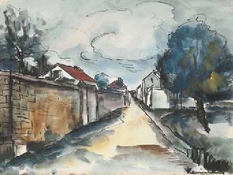 Maisons dans la rue
