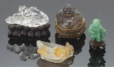 A Chinese agate brushwasher, 1