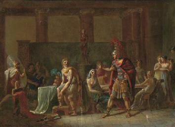 Hector reproaching Paris