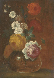 Peonies, chrysanthemums and ot