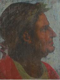 The Emperor Galba, bust-length