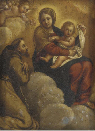 The Madonna and Child in Glory