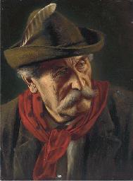 Portrait of a Tyrolean, bust-l