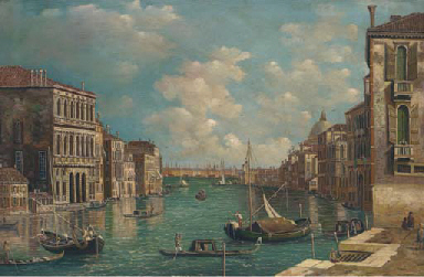 Vessels on the Grand Canal, Ve