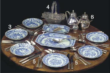 (14) A set of fourteen Chinese