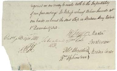 BLIGH, William (1754-1817) and