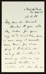 GORDON, Charles G. Two autogra