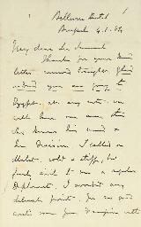 GORDON, Charles G. Autograph l