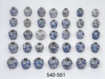 FIFTY ONE SIMILAR JARLETS (51