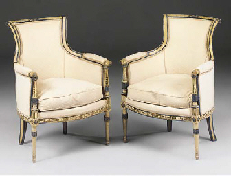 A French painted suite