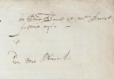 DONNE, John (1573-1631). Pseud