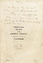 [COLERIDGE, Samuel Taylor (177