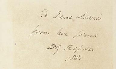 ROSSETTI, Dante Gabriel (1828-