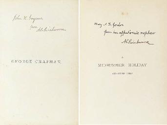 SWINBURNE, Algernon Charles (1