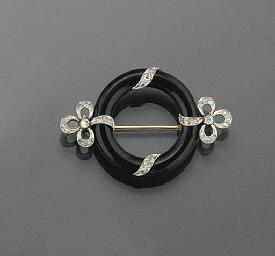 An Art Deco rose-cut diamond a