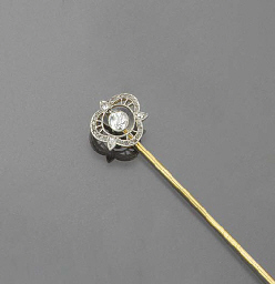 A diamond stickpin