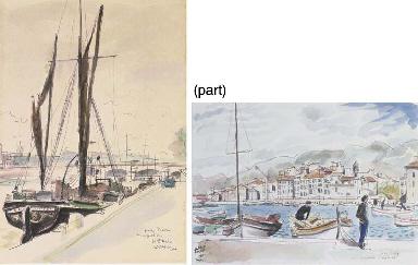 Le Port à Toulon