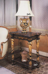AN ITALIAN PARCEL-GILTWOOD AND
