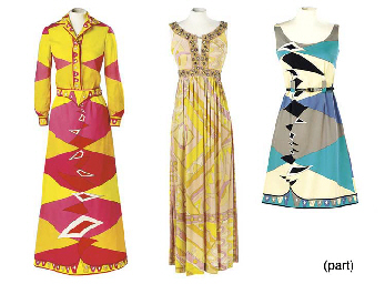 A FULL-LENGTH PUCCI DRESS OF S
