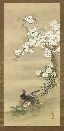 THREE JAPANESE CHINESE HANGING