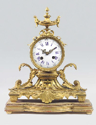 A Napoleon III ormolu striking