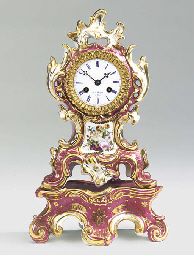 A Napoleon III painted porcela