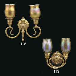 A GILT-BRONZE AND GOLD FAVRILE