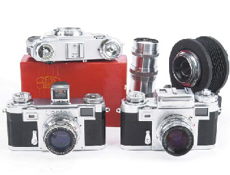 Contax camera outfit