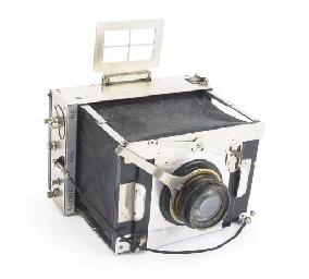 Collapsable press camera
