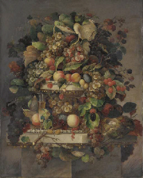 Still Life with Fruit, Champag