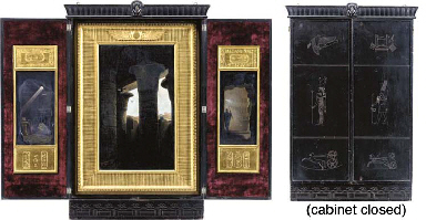 A Triptych of Egyptian Ruins